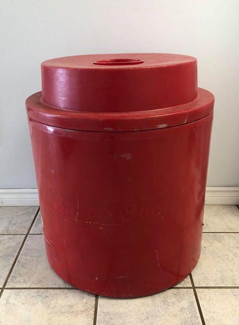 Red Super Cooler