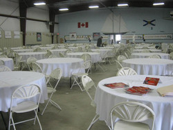 Table & Chair Arrangement - Bluenose Curling Club