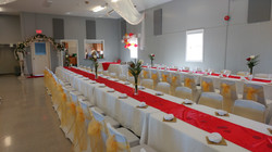 Gold & Red Reception