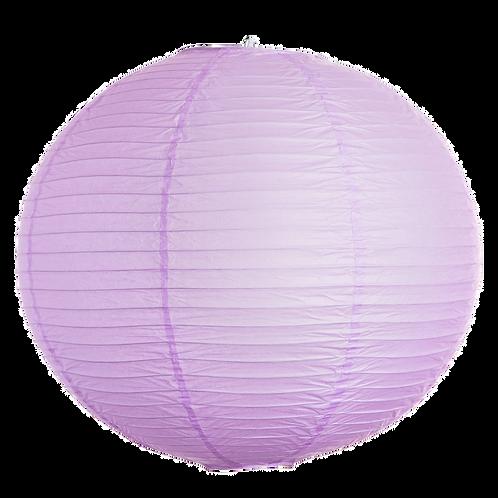 "8"" - Paper Chinese Lantern - Light Purple"