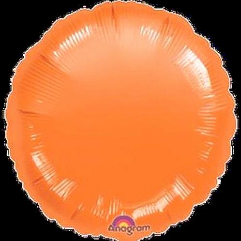 Orange Round ~ 18 Inch