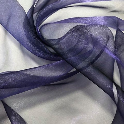 Chair Sash ~ Purple Organza
