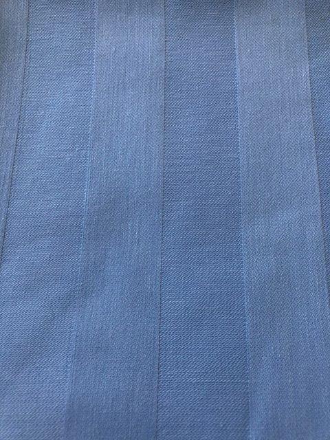 "*Sale Item* ~ Baby Blue Striped 90"" Round"