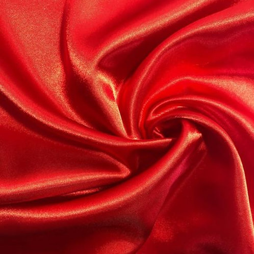 Chair Sash ~ Red Satin