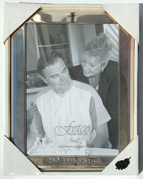 """25th Anniversary"" Silver Photo Frame"