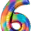 Thumbnail: Rainbow Numbers ~ 34 Inch