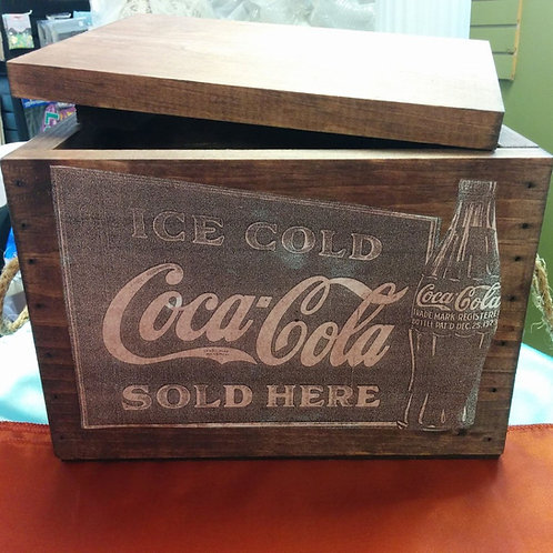 """""""Coca-Cola"""" Box"""