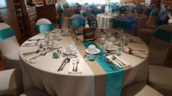 Turquoise & Burlap - Pictou Lodge