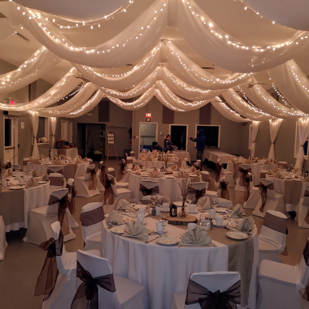 Across Ceiling Arrangement - North End Rec