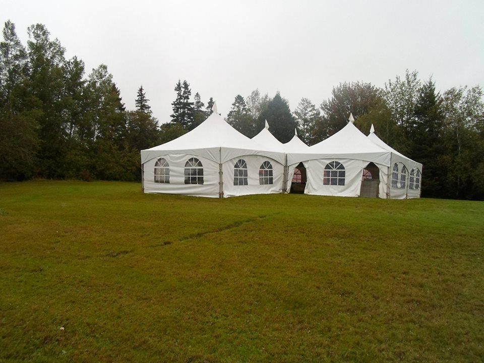 5 tents