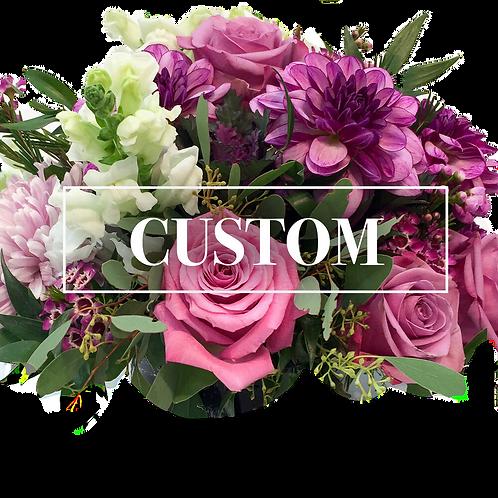 Custom Made Archway Flowers