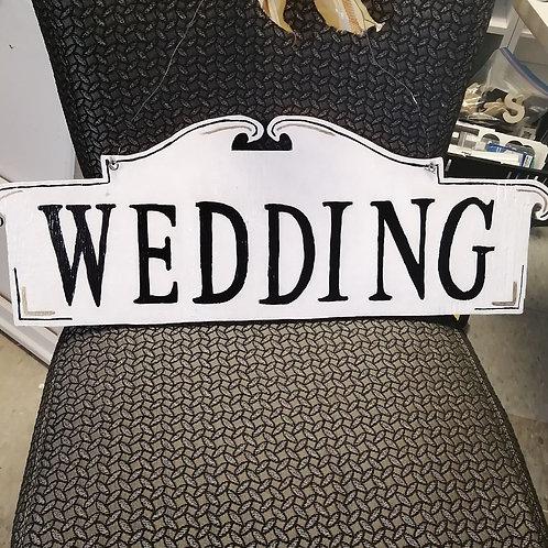 Wedding ~ Lawn Sign