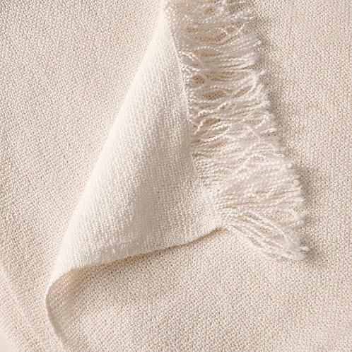 Off-White ~ Throw Blanket