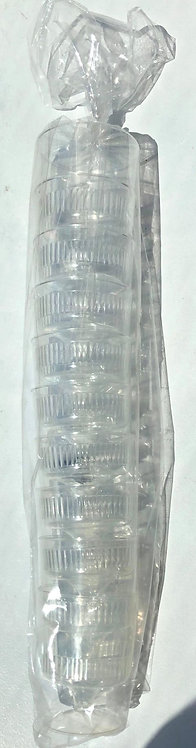Plastic Wine Cups - 10 Pack