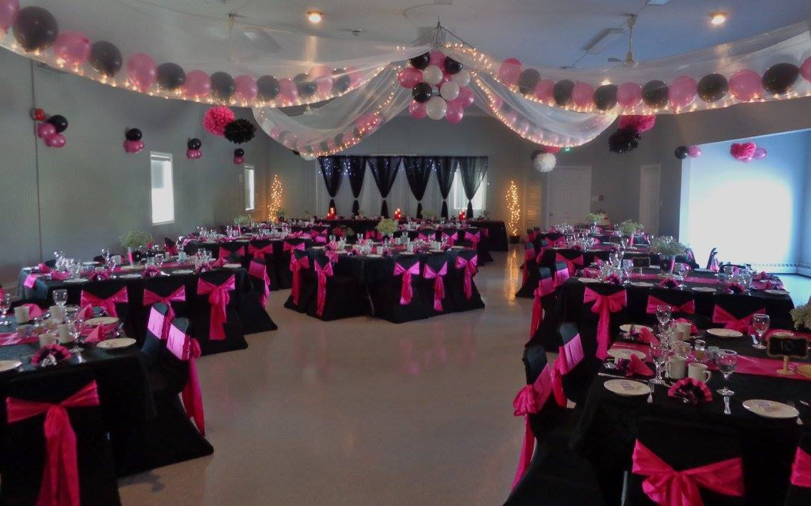 Black & Pink Reception