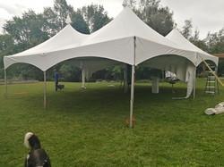 30'x40' Tent - Mid Setup