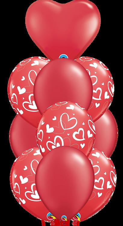 10 x 11 Inch Balloon Bouquet