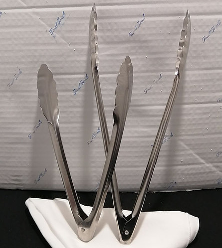 Clamshell Serving Tongs