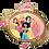 Thumbnail: Princess Crown Topper ~ 34 Inch