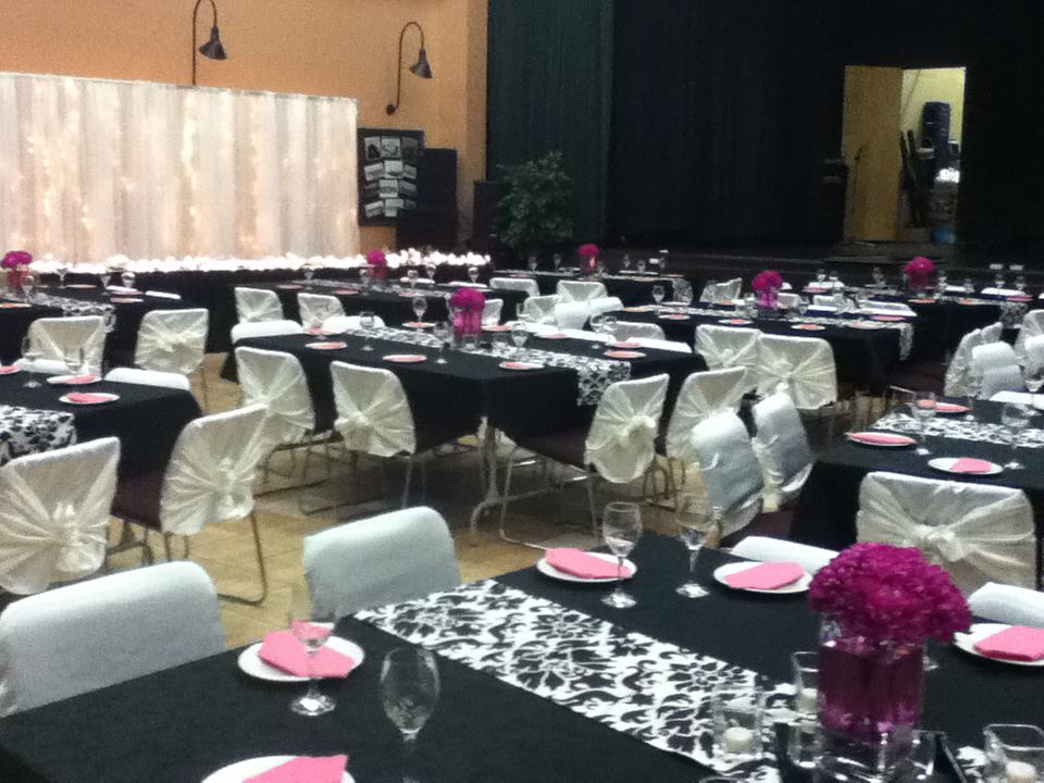 White, Black, & Pink Reception