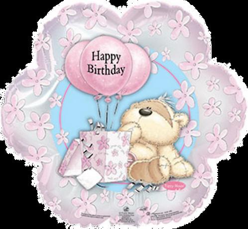 """""""HB"""" Teddy Bear & Present ~ 18 Inch"""