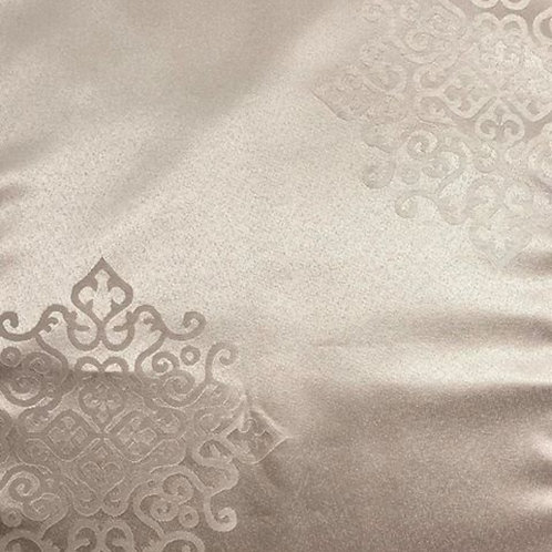 Table Runner ~ Taupe Damask