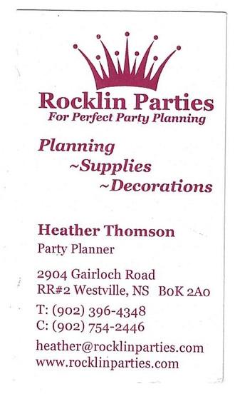 Rocklin Parties