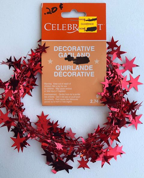 Decorative Star/Sparkle Garland