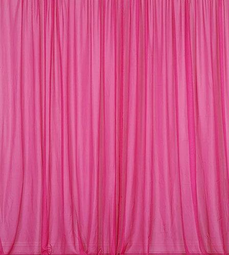 8' Long ~ Fuchsia PinkSheer