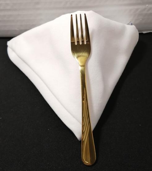 Gold Salad & Dessert Fork