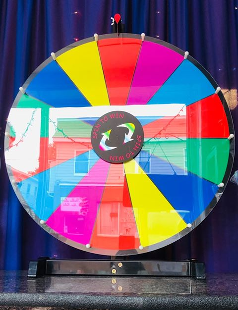 Coloured Prize Wheel