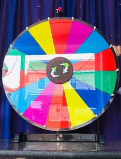 Coloured Prize Wheel