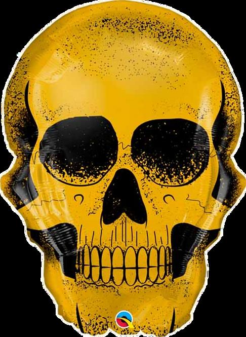 Golden Skull ~ 36 Inch