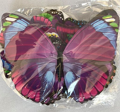 Pink Paper Butterflies - 20 Multi-Sized Pack