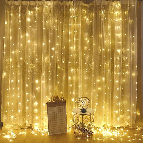 Warm White Curtain Light