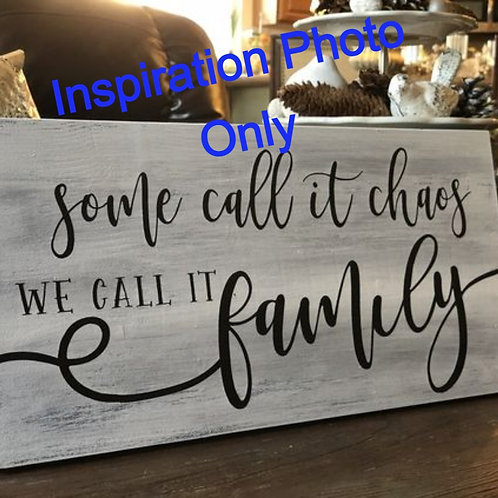 Table Family Sign
