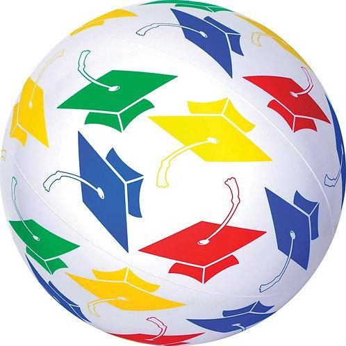 Inflatable Graduation Hat Large Beach Ball