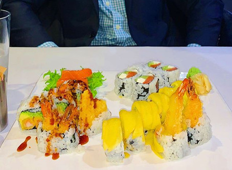 sushi & overcoming setbacks