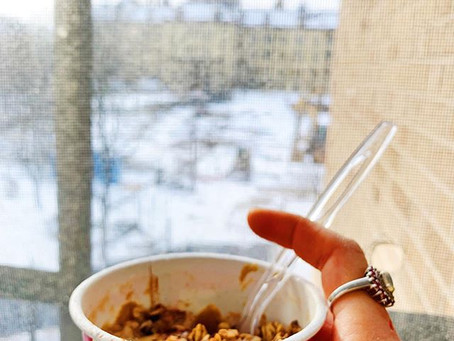 instant oatmeal & recovery wins