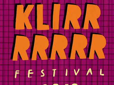 KLIRRRRR FESTIVAL 2019