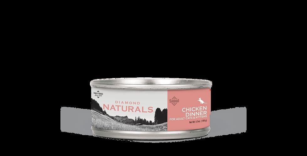 Diamond Naturals - Chat dîner de poulet 156g