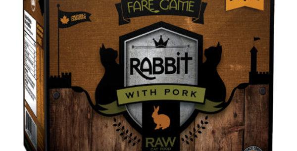 BCR - Formule pour chat au porc et au lapin 2lbs