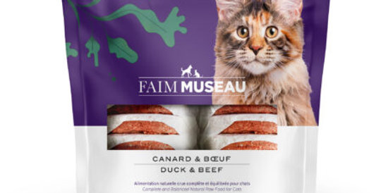Faim Museau - Canard et Boeuf POUR CHAT 6lbs