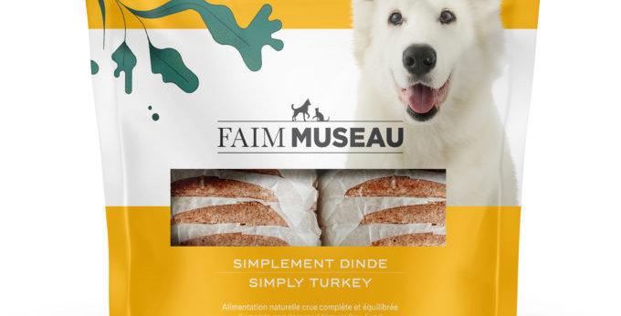 Faim Museau - Simplement dinde chien et chat 6lbs