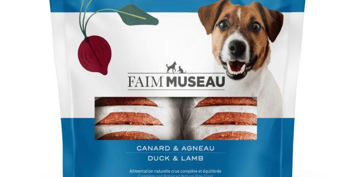 Faim Museau - Canard et agneau pour chien 6lbs