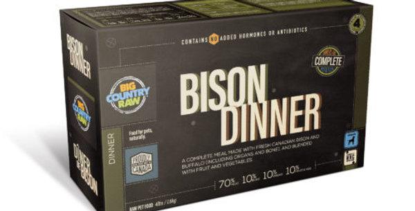 BCR - Dîner pour chien au bison 4lbs