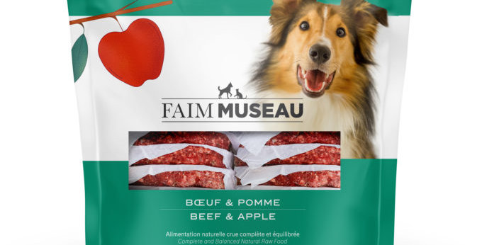 Faim Museau - Boeuf et pomme pour chien 6lbs