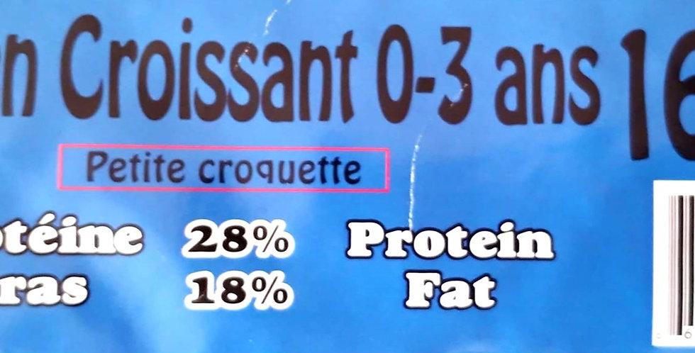 Moulées Gagnon - Chien / Chiot croissant petites croquettes 16Kg