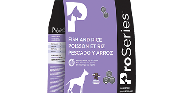 Proséries - Chien poisson et riz 2,7Kg