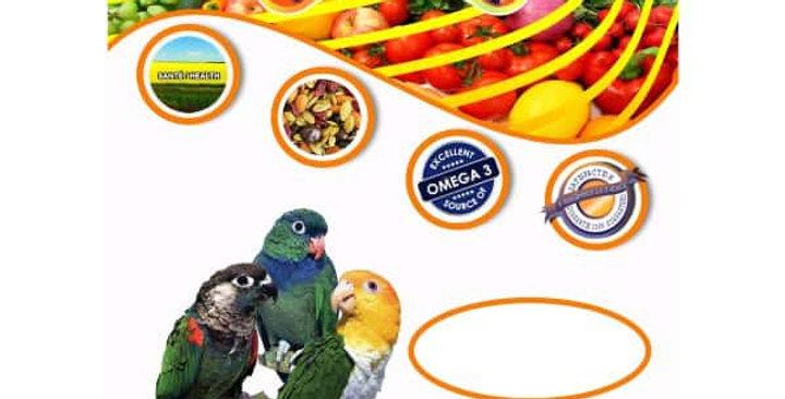 Zoo-Max - Nourriture d'oiseaux premium Fruitomax Conure et Petit Perroquet 2lbs